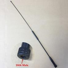 honghuismart RH901S SMA MALE UHF VHF Dual Band antenna for Tonfa TFUV985,Yaesu,Vertex Standard VX3R etc walkie talkie
