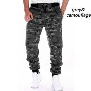 ZOGAA Hot Sale Men Spring Autumn Camouflage Pants Sweatpants Trousers Male Casual Fashion Slim Fit Large Size Pants Men