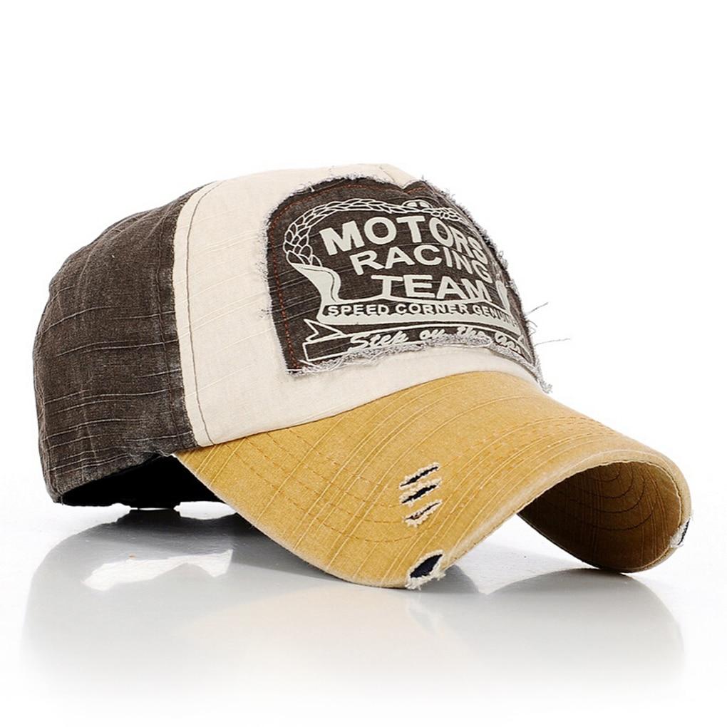 Motors Racing Team Cotton   baseball   snapback hats   caps   sports hip hop
