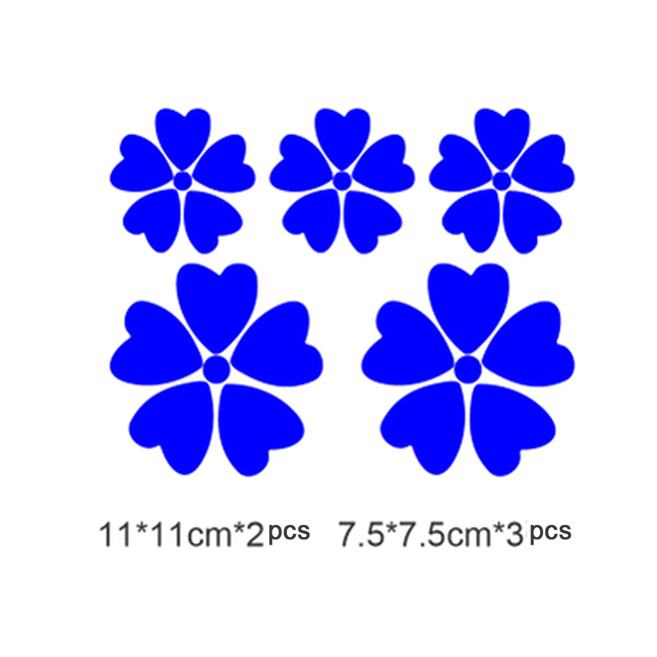Image 4 - OCT 17 Romanti Cherry blossom Car Vinyl Whole Body Graphic Decal Sticker Styling 5 pcs/pack-in Car Stickers from Automobiles & Motorcycles