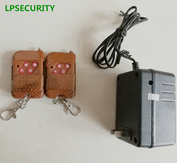 Cerradura Eléctrica   Sistema De Control De Acceso De Puerta Cerradura De Puerta Eléctrica Uso Interior Con 2 Adaptadores De Corriente De Control Remoto