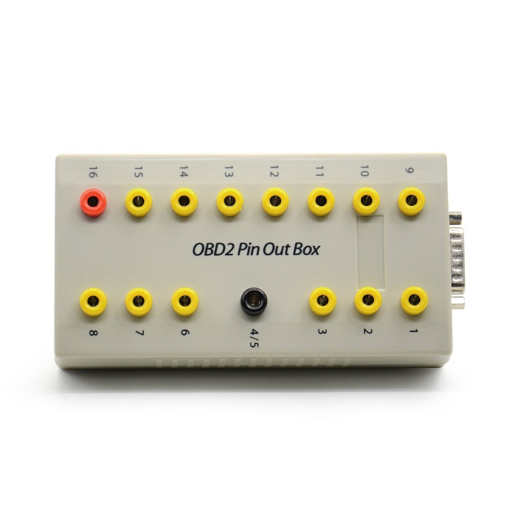Obd2 Pin Out Box Breakout Tester Auto Connector 16pin