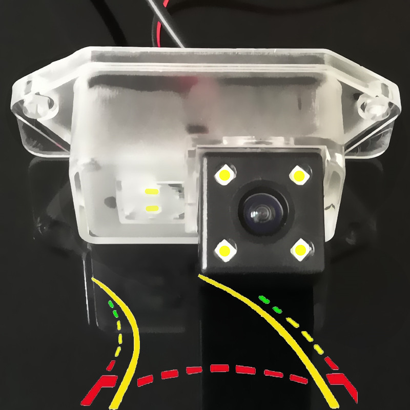 Intelligent Dynamic Trajectory Tracks HD Car Rear View Camera For Mitsubishi Lancer EX EVO IO 8 9 10 Eclipse Evolution Outlander