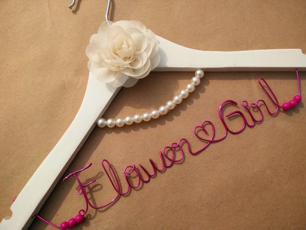 Вешалка с жемчугом персональная Свадебная Вешалка, подарки невесте, вешалка с именем, вешалка для платья невесты