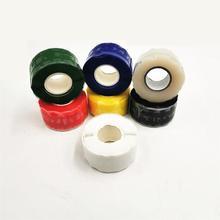 1 pcs Self-adhesive Rubber Silicone Sealing Repair Waterproof Bonding Tape Self fusing tape Repair Tape For Electrical Cab недорого