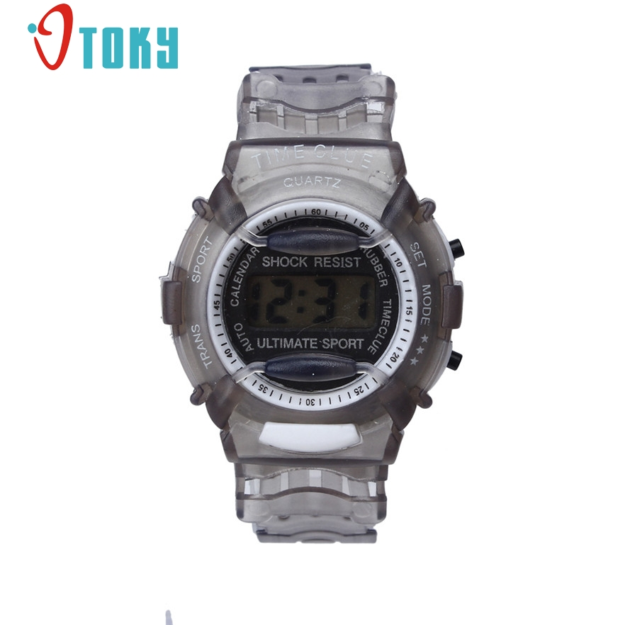 New Arrive Children Watches Fashion Waterproof Digital Wristwatches Sport wrist Watch for Kids Boys Girls #40 Gift 1pc