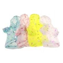 Солнцезащитная Одежда для собак, тонкая одежда с капюшоном для собак, летняя Солнцезащитная Одежда для собак, Солнцезащитная одежда для домашних животных