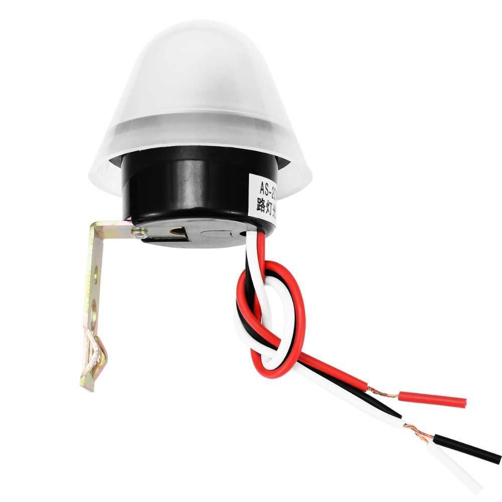1 шт. автоматический светильник с датчиком управления Фото реле фотопереключатель 180-240 В для уличных дорожек светильник ing Lamp Mayitr