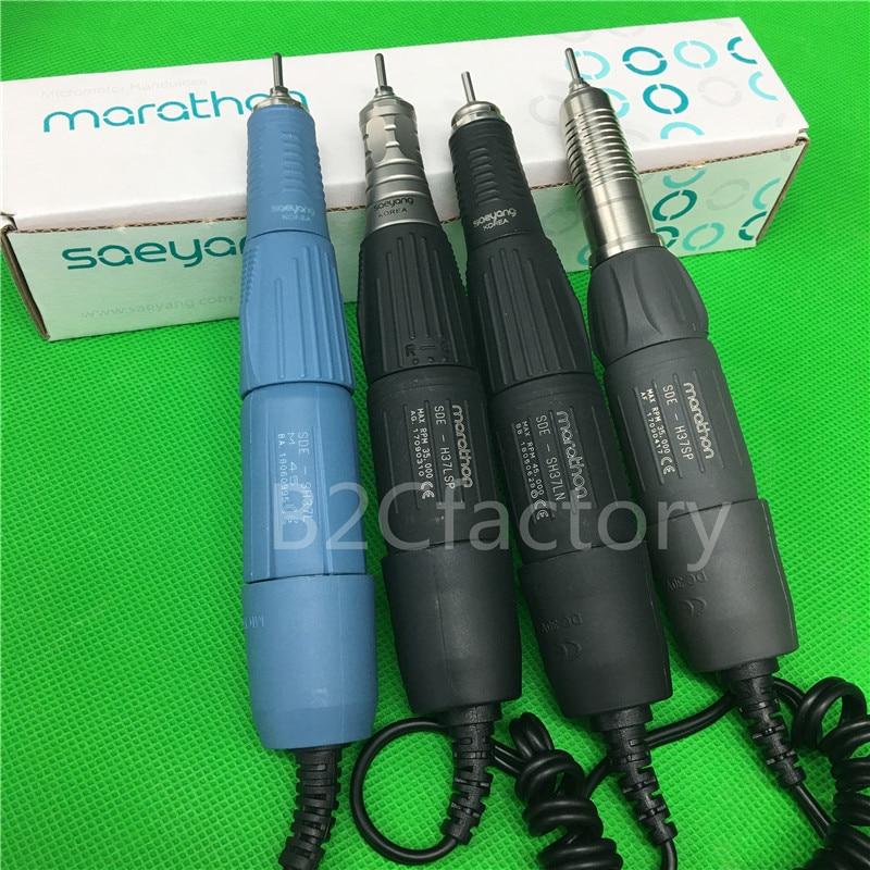 Micro Motor Handstück MARATHON Korea SAEYANG 35K & 45K RPM Zähne Polieren 2,35mm Dental Labor Ausrüstung-in Zahnbleaching aus Haar & Kosmetik bei  Gruppe 1