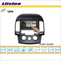 Liislee For Hyundai i30 2007~2011 Car S160 Multimedia System Radio Stereo CD DVD TV GPS Nav Navi Map Navigation HD Touch Screen
