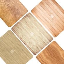 35ec3b556b8 Funda dura con diseño de grano de madera para Apple Macbook Air 13 Air11  pulgadas Pro 13 15 con Retina 12 13 15 funda funda prot.