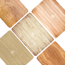 wood grain pattern Hard Case For Apple Macbook Air 13.3 11 inch Pro15 with Retina 12 laptop shell Protective Bag
