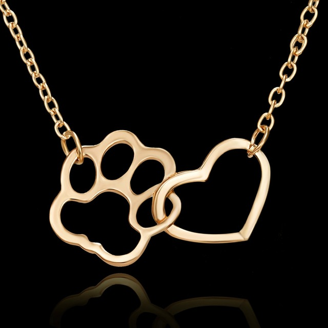 Dog Claw Heart Necklace 2