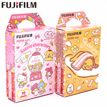 Новинка, фотопленка Fujifilm 20 листов Instax Mini Gudetama + +, персонажи Sanrio, фотобумага для Instax Mini 8 7s 9 25 50s 90 SP 1 2 камеры