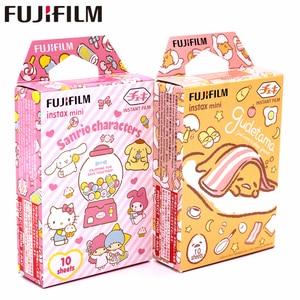 Image 1 - Новинка, фотопленка Fujifilm 20 листов Instax Mini Gudetama + +, персонажи Sanrio, фотобумага для Instax Mini 8 7s 9 25 50s 90 SP 1 2 камеры
