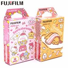 Nouveau Fujifilm 20 feuilles Instax Mini Gudetama + + Sanrio personnages Film papier photo pour Instax Mini 8 7 s 9 25 50 s 90 SP 1 2 appareil photo
