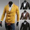 Новый прямых продаж срок годности кардиганы полный 2016 весной свитер мальчики личности тонкий кардиган свободного покроя мужской верхней одежды тонкий