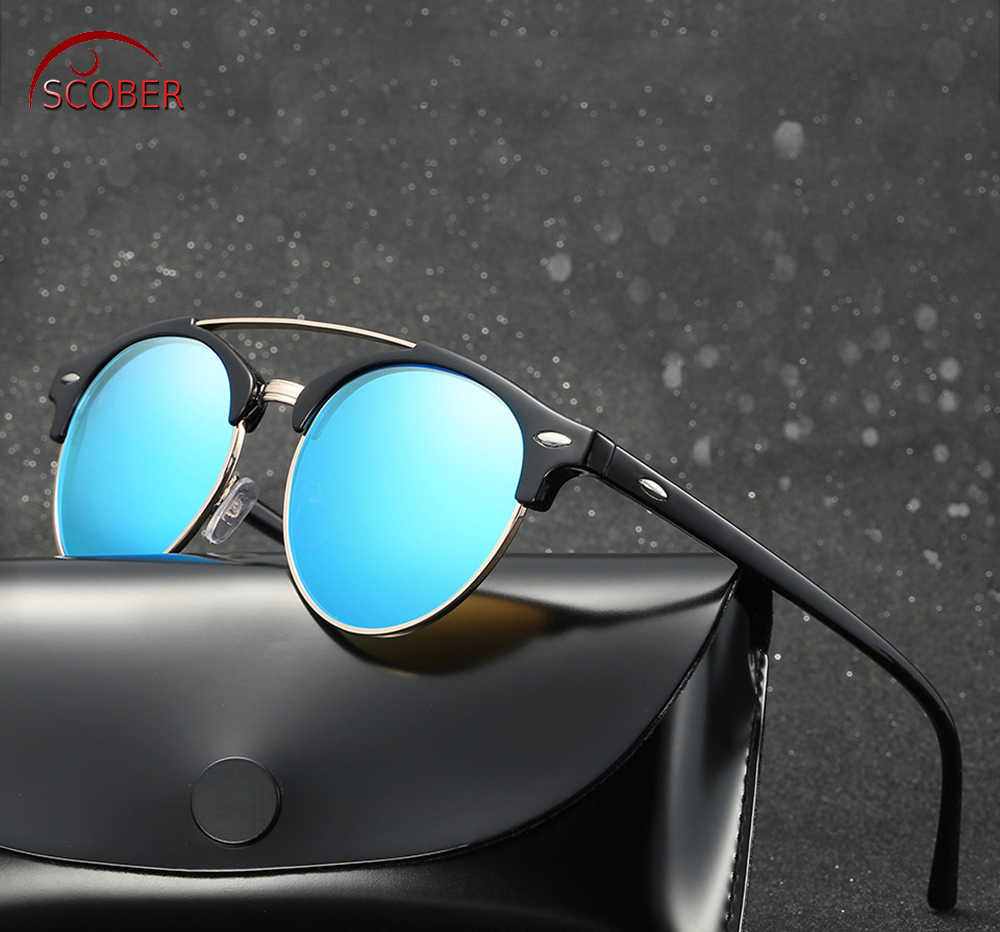 Retro Vintageผู้ชายผู้หญิงPolarized Sunแว่นตาPolarizedแว่นตากันแดดCustom Madeสายตาสั้นMinusเลนส์-1-6