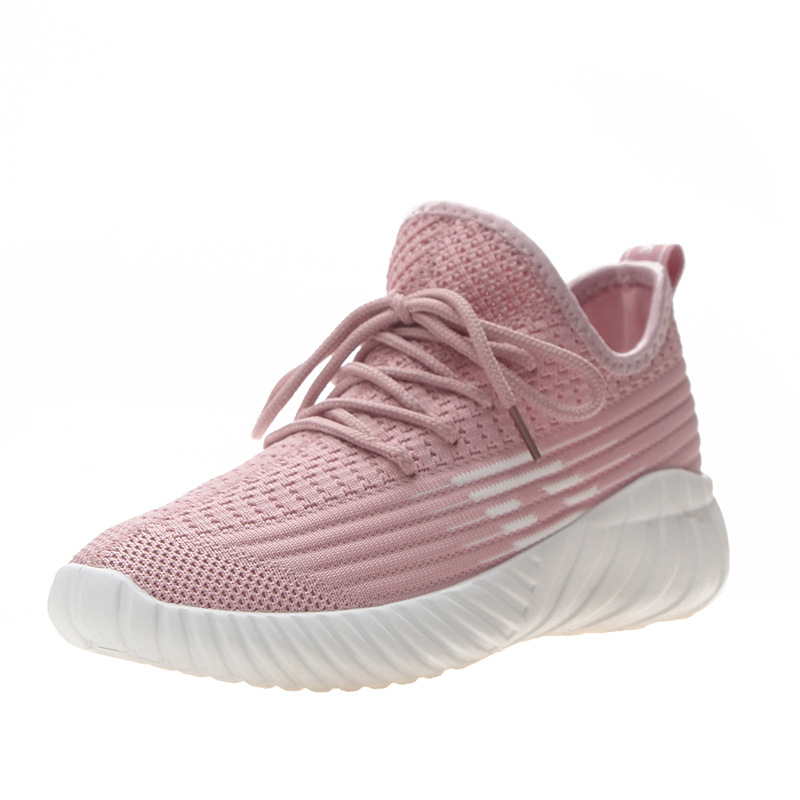 Women sneakers 2019 new casual net red coconut shoes casual sports fitness solid color women 39 s shoes in Women 39 s Vulcanize Shoes from Shoes