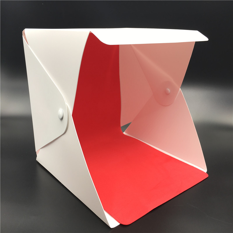 Portable Folding lightbox Photography Photo Studio Softbox Lighting Kit Light box for iPhone Samsang Digital DSLR Camera