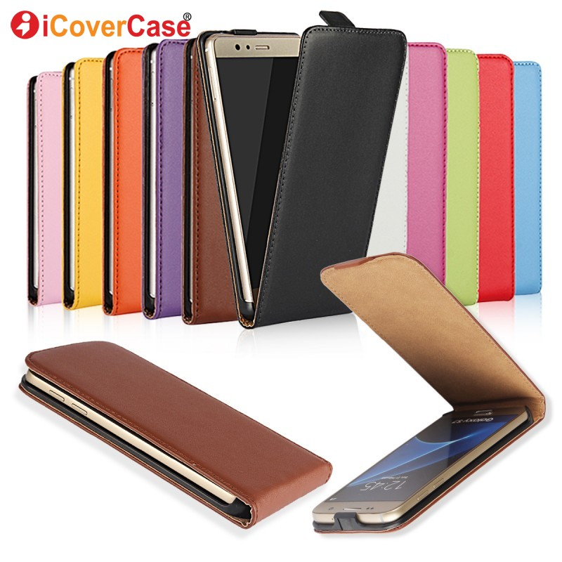 S9 Plus Leather case for Samsung S3 Mini Flip cover case for Galaxy A5 A7 2016 A3 2017 S6 S7 Edge S4 S5 S8 S9+ Note 8 4 3 cases