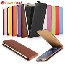Vertical Flip Genuine Leather Case For Samsung Galaxy S3 Mini i8190 with 10 Colors все цены
