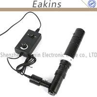 HD 1000X зум стерео микроскоп камера коаксиальное освещение Монокуляр c крепление зум объектив 40 мм кольцо Zoon c крепление объектив стекло объек
