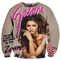 New Fashion Mens/Womens Zendaya x Galore 3D Print Sweatshirt Hoodies S M L XL XXL 3XL 4XL 5XL 6XL