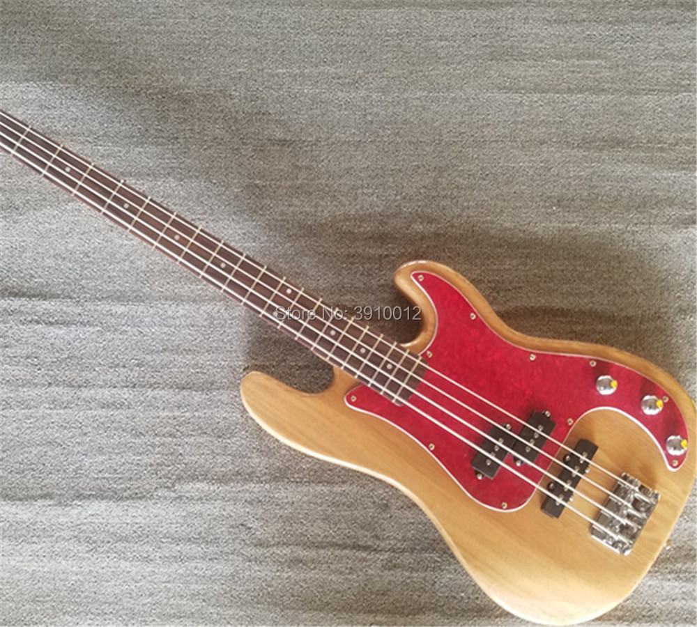 New store China factory custom 4 string basselectric bass guitar musical instruments shop in Electric Guitar from Sports Entertainment