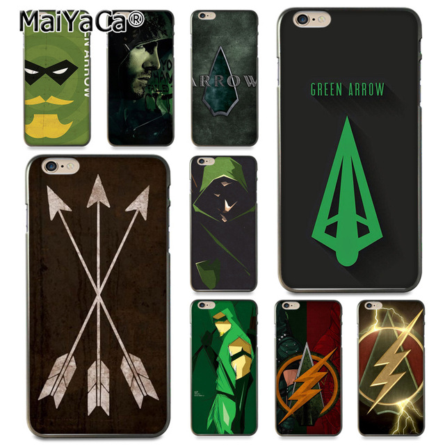 MaiYaCa American Tv Series Green Arrow Coque Shell Phone Case for Apple iPhone 8 7 6 640x640