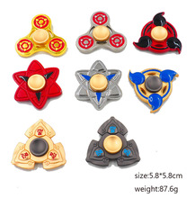 One Piece Fidget Spinner Naruto Hand Spinner Metal Fidget Fingertip For Autism ADHD Anxiety Stress Relief