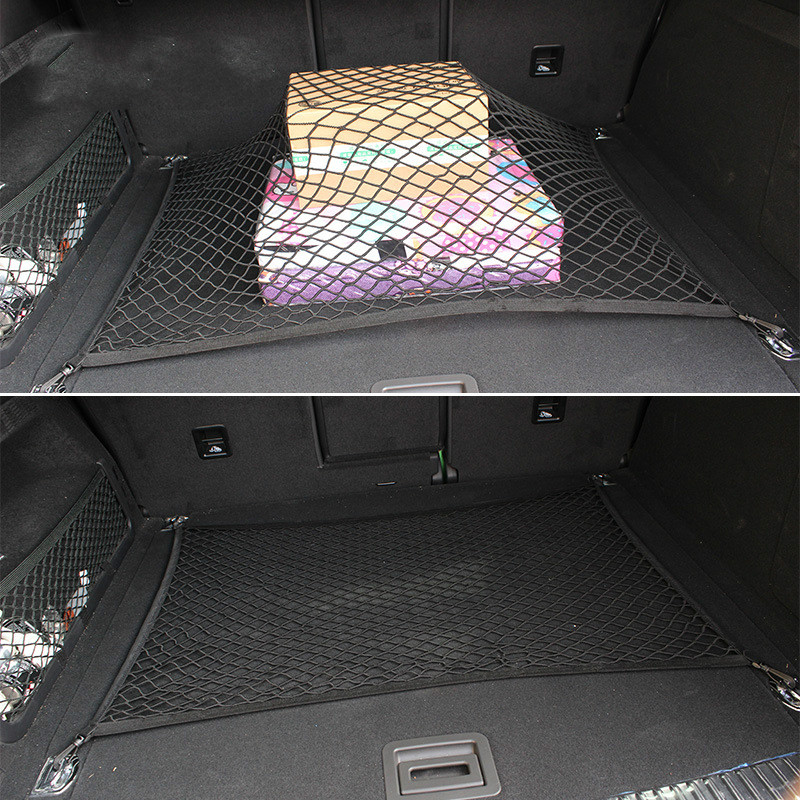 Image 3 - For Nissan X Trail T31 2008 2009 2010 2011 2012 2013 Xtrail  Car Trunk Luggage Storage Cargo Organizer Nylon Elastic Mesh Net-in Stowing Tidying from Automobiles & Motorcycles