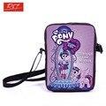 Молодых женщин мини-сумка аниме мой маленький пони кроссбоди мешок девочки школьные сумки детей сумки книгу дети школьные лучший подарок