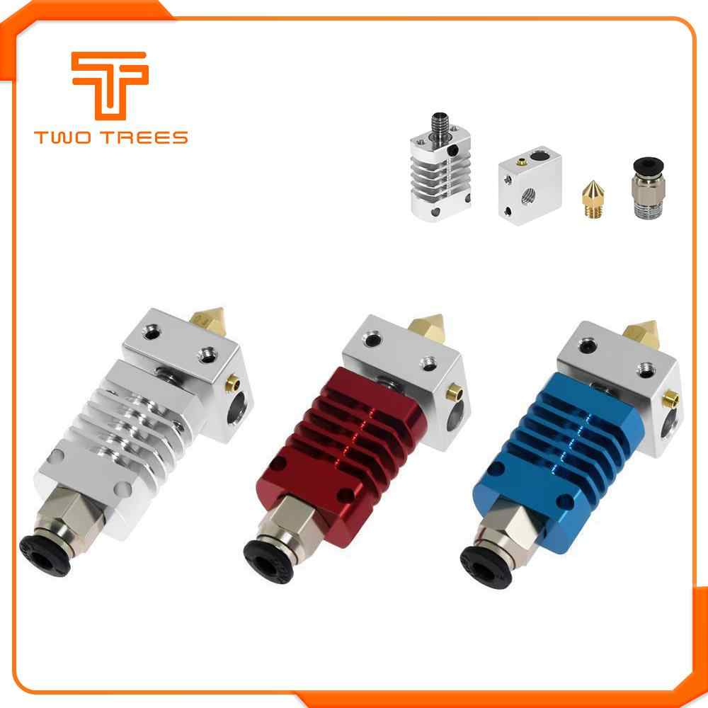 3D Printer Parts Full Metal J-head Hotend MK8 Extruder Kit For CR-10 CR-10S 3D V6 Bowden Extruder 1.75/0.4MM Nozzle