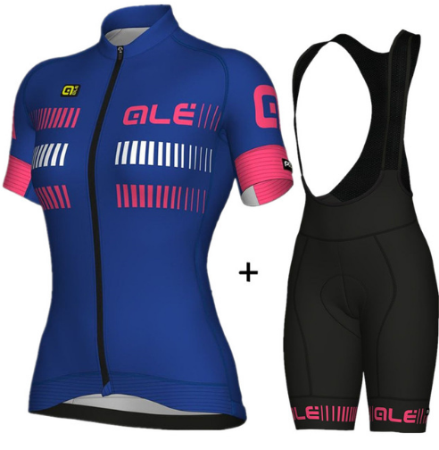 2018 New SportsWear Womens ALE Cycling Jersey Short Sleeve Cycling Clothing Bike Shirt Racing Clothe Riding Garment Bicycle Set