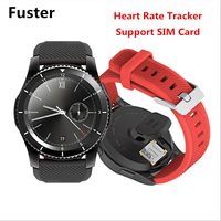 Фустер G8 SmartWatch Bluetooth 4.0 sim-карты вызова сообщение напоминание сердечного ритма Мониторы Смарт часы BT MP3 музыка для Android