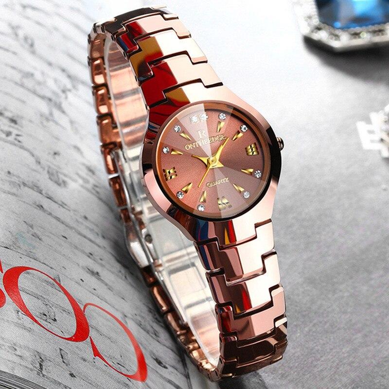 Relogios Femininos marque de luxe robe Ultra-mince femmes montres femmes en acier tungstène montre quartz montres cadeau d'anniversaire