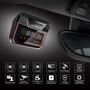 Image 2 - Ruccess STR S900 Radar Detectors Led 2 in 1 Radar Detector for Russia with GPS Car Anti Radars Police Speed Auto X CT K La