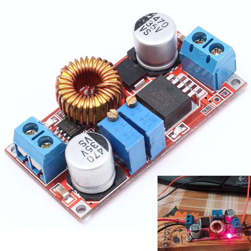 Li-lion Lithium Battery <font><b>Charger</b></font> Module 5V-32V to 0.8V-30V 5A LED Driver Step Down <font><b>Buck</b></font> Converter Board Constant Current Voltage