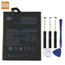 Оригинальные Замена Батарея для Xiaomi Mi Max 2 Max2 BM50 Подлинная телефон Батарея 5300 mAh