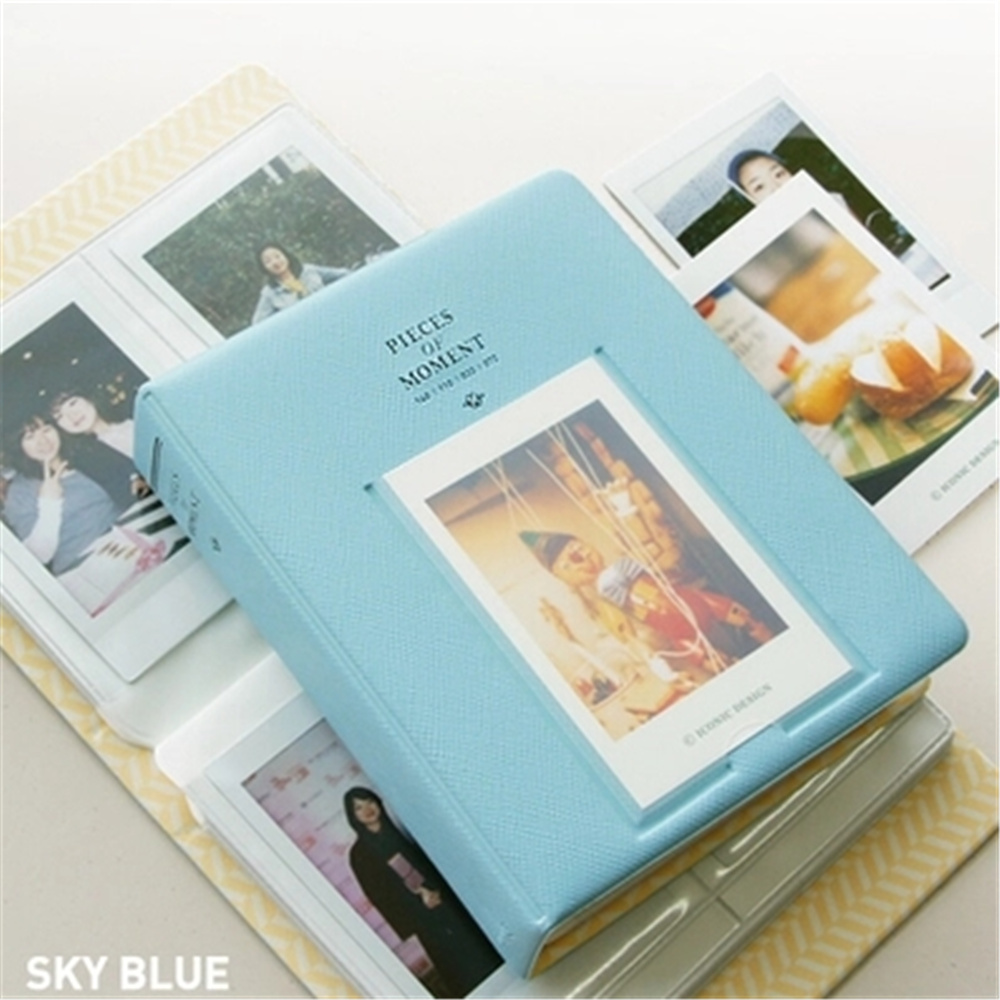 Multi color cardstock paper - High Quality Mini 8 Photo Album 64 Slots Pieces Of Monet Multi Color 3 Inch Mini Vintage Album Card Stock
