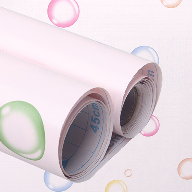 Yazi Bubble Self Adhesive Shelf Liner Kitchen Drawer Cabinet Wall Sticker Wallpaper Home Table Decor 200x45cm