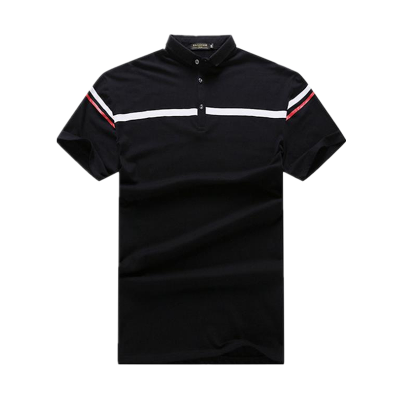 2018 Cotton   Polo   Shirt Men Plus Size xxl 6xl 7xl Short Sleeve Business Casual camisa   polo   Breathable   Polos   homme