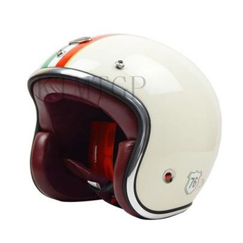 BEON B108 motorcycle helmet vintage Scooter open face helmet retro 3/4 capacete GFRP Material cascos ECE approved,Capacete