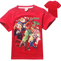 5 pieces/lot wholesale 2016 Summer wear T-shirt explosion zootopia crazy animal in children children's short sleeved T-shirt
