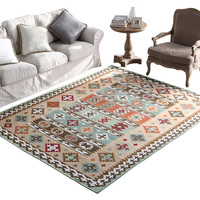 carpet Living Room Coffee Table Blanket Machine washable Home American Country Rug Bedside Bedroom Fully Carpeted MAT