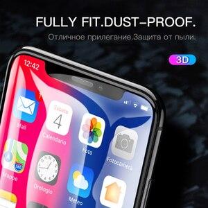 Image 4 - Hoco Full Cover Gehard Glas Voor Iphone 11 Pro Max Xr X Xs Max Screen Protector 3D Beschermende Glas Op voor Iphone 7 8 Plus