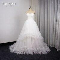 Милая ручной лепесток Романтический Свадебные платья