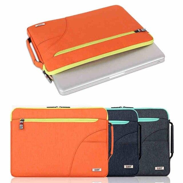 Marca quente bubm saco de nylon messenger bag para macbook air, Pro11, 12,13, 15 polegada, Bolsa Sleeve Case 14 polegada Laptop Bag, Frete Grátis