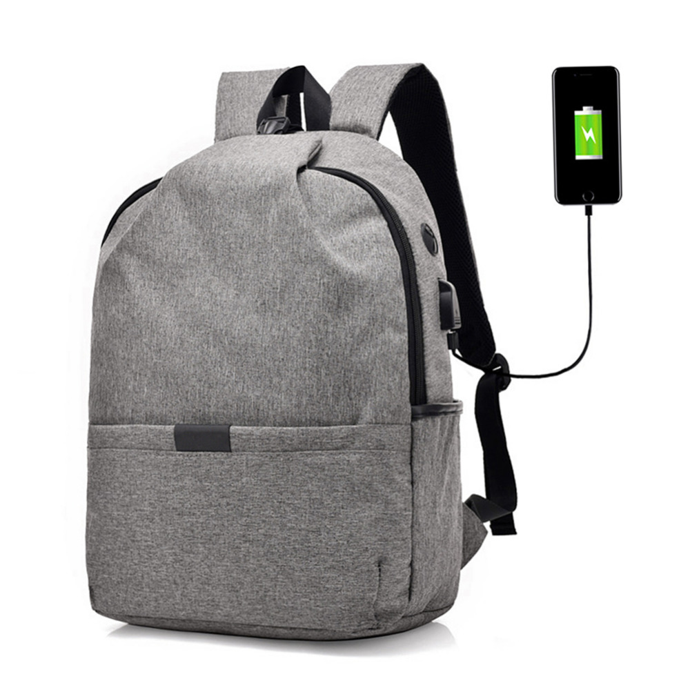 Hot Unisex Anti-theft Canvas Backpacks High Capacity Casual Travel Rucksacks USB Charging Laptop Bags Student Shoulder Schoolbag fashion canvas men backpack anti theft with usb charging laptop backpacks business unisex knapsack shoulder women travel bags